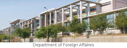 Department of Foreign Affaires